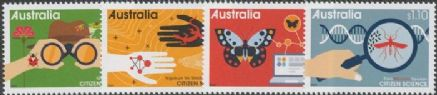 AUS 19/05/2020 Citizen Science set of 4